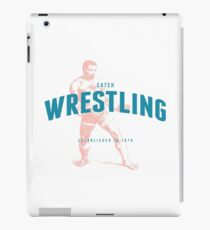 Catch Wrestling-  Established in 1870 iPad Case/Skin