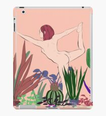 Contacting the Wild Woman iPad Case/Skin