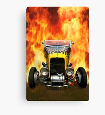 Hot Hotrod Canvas Print
