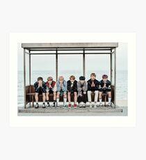 BTS, You Never Walk Alone Art Print