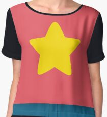Steven Universe Cosplay Top & Pants Chiffon Top