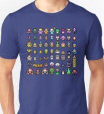 Super Mario Characters Unisex T-Shirt