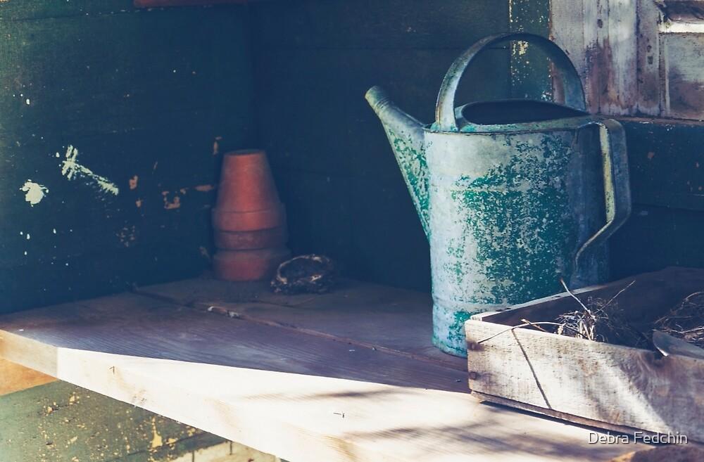 The Potting Shed by Debra Fedchin