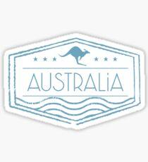 Australia Stamp Sticker