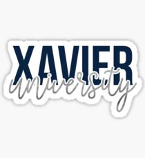 Xavier University - Style 13 Sticker
