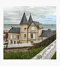 Victorian Style House at Gold Beach Photographic Print