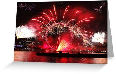 New Year Red Eye by Adam Gormley