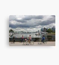 Vancouver - Seawall Canvas Print