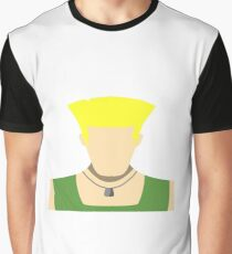 Guile Vector Graphic T-Shirt