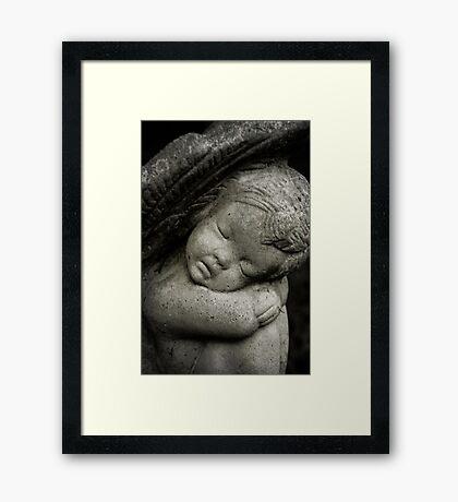 A little Angel Framed Print