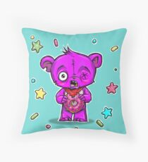 Donuts make you FAT?! Throw Pillow
