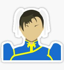 Chun Li Vector Sticker