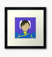 Chun Li Vector Framed Print