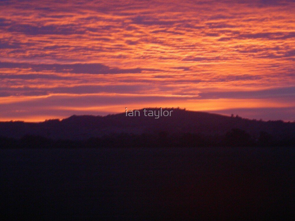 RED SKY IS MY DELIGHT by ian taylor