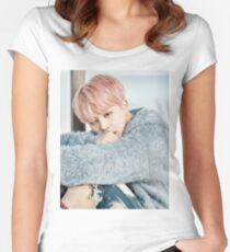 Jimin BTS Women's Fitted Scoop T-Shirt