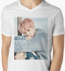 Jimin BTS Men's V-Neck T-Shirt