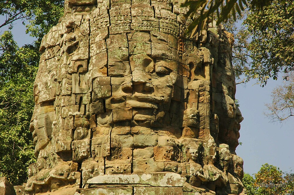 Cambodia Faces by timmylum