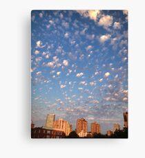Vancouver - Sunset Clouds Canvas Print