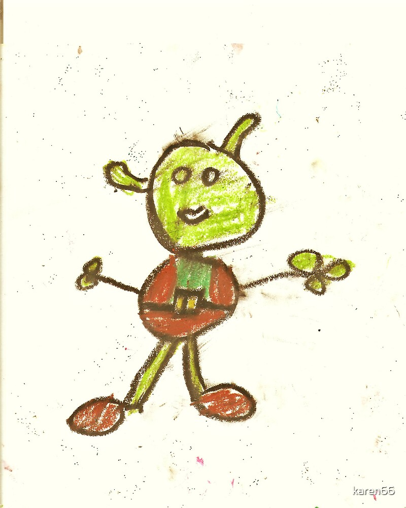 Shrek by a 7 Year Old by karen66