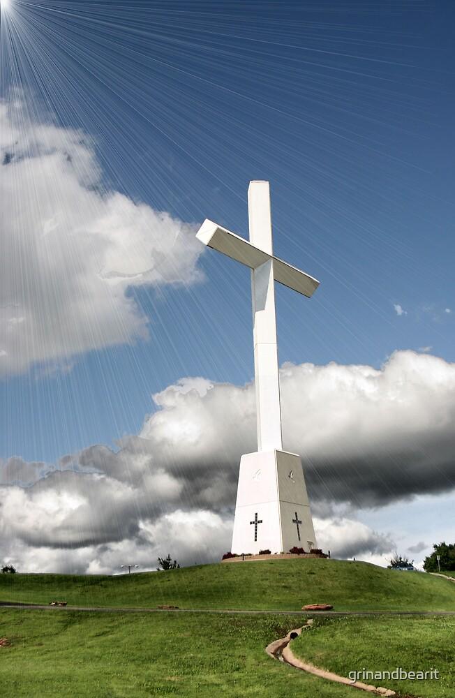 The Cross by grinandbearit
