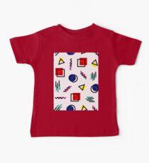 Memphis Style Pattern Design Kids Clothes