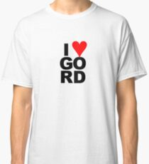 """""""I Love Gord"""" Heart Design inspired by Gord Downie of the Tragically Hip Classic T-Shirt"""