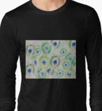 Peacock feathers Long Sleeve T-Shirt