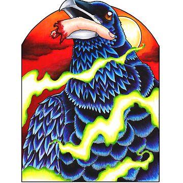 Ravenous Raven by mfdeshonga