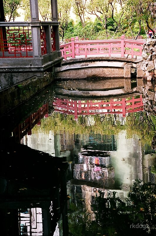 reflection of chinese building by rkdogz