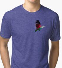 Palestine Sunbird  Tri-blend T-Shirt