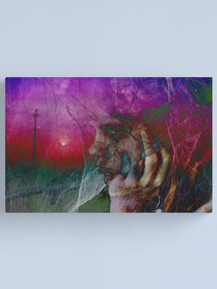Alternate view of Love me in sunrise Canvas Print