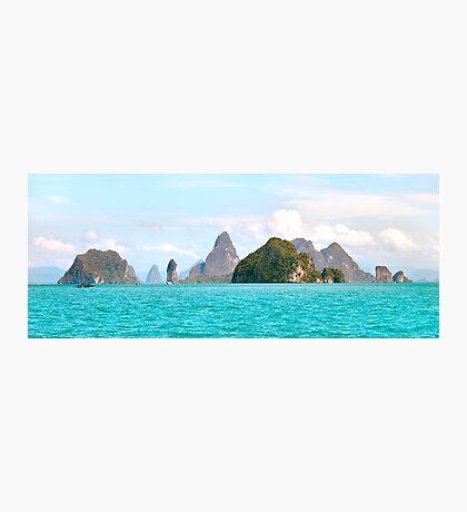Phang Nga Bay Islands Photographic Print