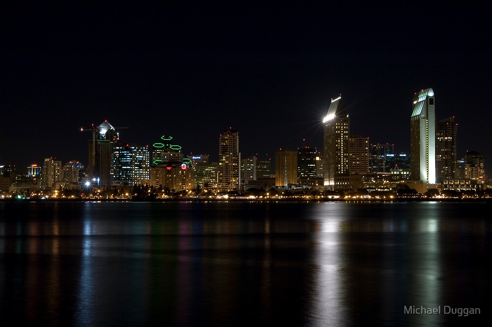 San Diego Bay by Michael Duggan