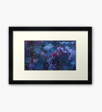 From Chaos Comes Life Framed Print