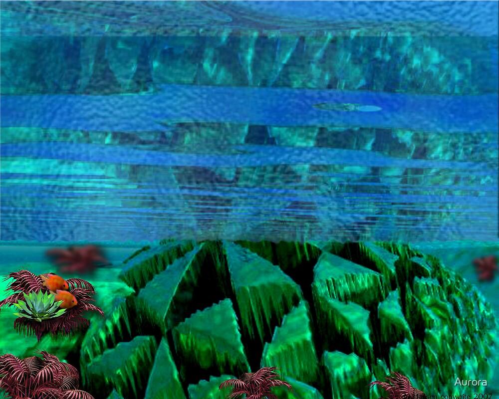 Underwater ruins by Aurora