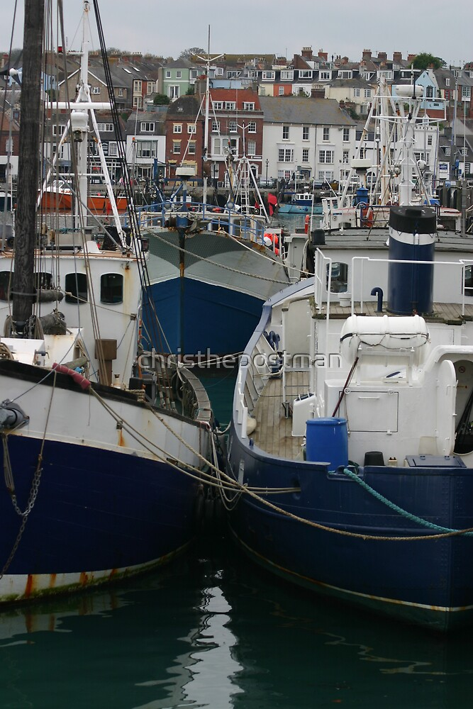 the fishing fleet by christhepostman