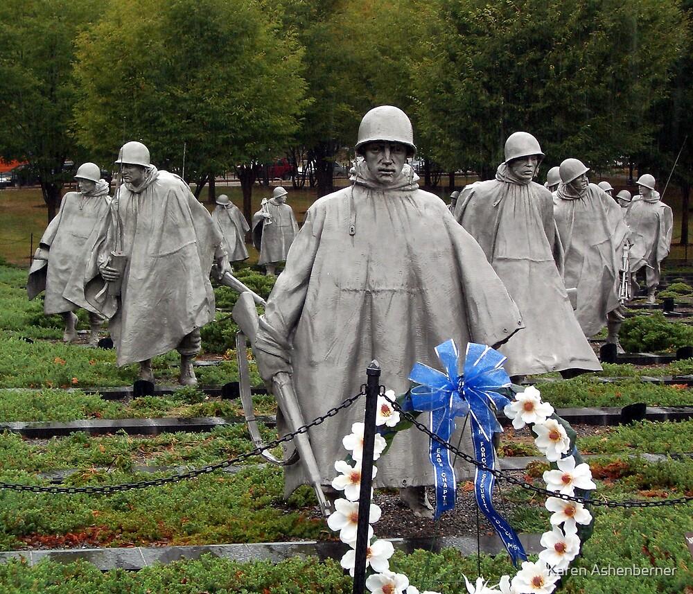 Memorial - Washington DC by Karen Ashenberner