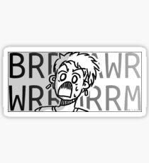 BRRAAWRRRRRRM (Kernel Inception) Sticker