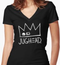 Jughead Women's Fitted V-Neck T-Shirt
