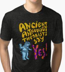 Ancient Aliens, Ancient astronaut  Tri-blend T-Shirt