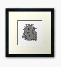 Adorable Beast! Framed Print