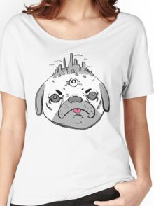 Pugtopia  Women's Relaxed Fit T-Shirt