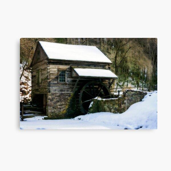Cutalossa farm in Winter Canvas Print