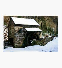 Cutalossa farm in Winter Photographic Print