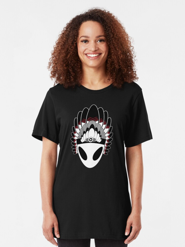 Alternate view of The First Native American Slim Fit T-Shirt