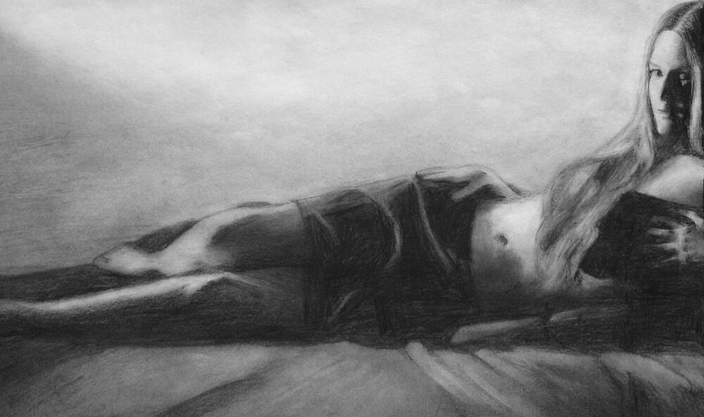 Persuasion (in pencil) by Chelsea Kerwath