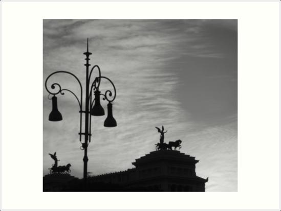 Roman Skyline by Steven McEwan