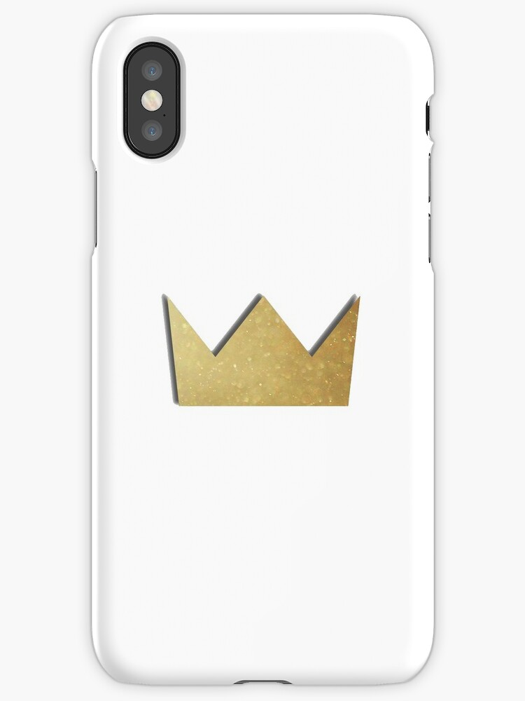 louis the child gold crown logo iphone cases covers by