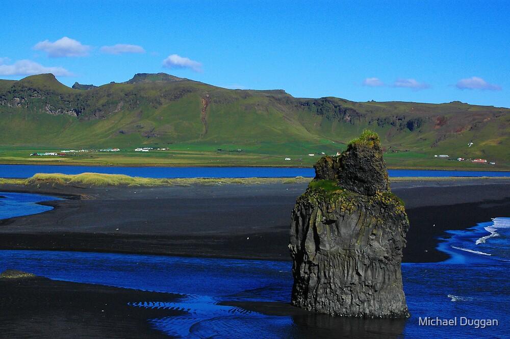 Icelandic Seaside by Michael Duggan