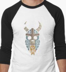 Old Bones- Draugr (colour) Men's Baseball ¾ T-Shirt